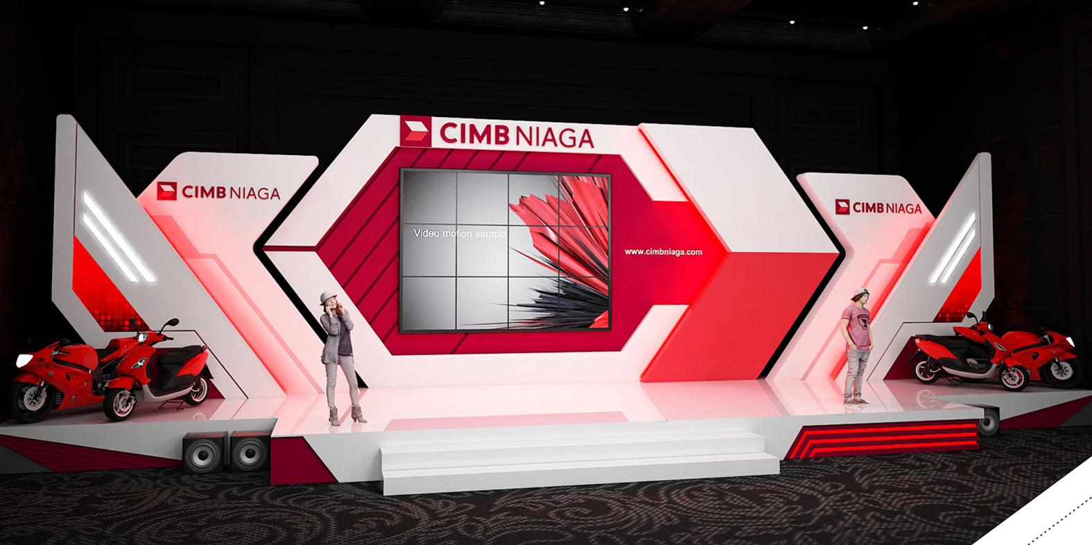 Design Stage Bank CIMB NIAGA