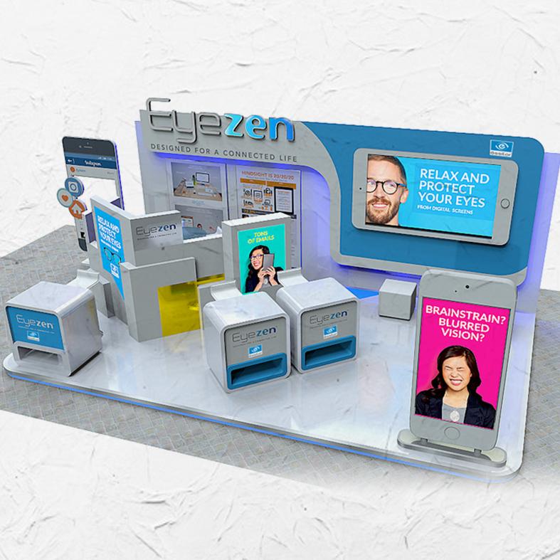 Design Booth Eyezen Indonesia