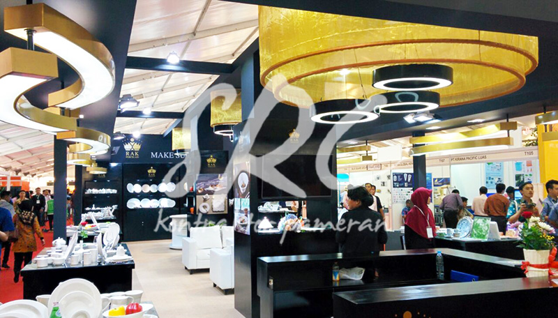 Rak Porcelain Foot & Hotel Indonesia