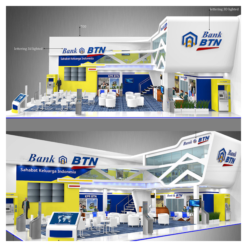 Design Booth Bank BTN